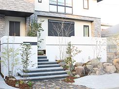 川西市にお住まいのお客様へ 外構施工事例2