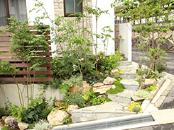宝塚市にお住まいのお客様へ 外構施工事例5