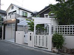 猪名川町にお住まいのお客様へ 外構施工事例6