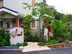 神戸市東灘区にお住まいのお客様へ 外構施工事例3