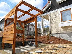 猪名川町にお住まいのお客様へ 外構施工事例3