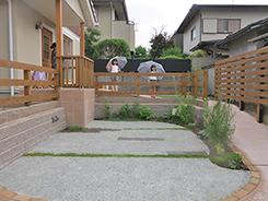 川西市にお住まいのお客様へ 外構施工事例5