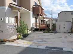神戸市西区にお住まいのお客様へ 外構施工事例3