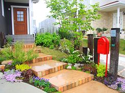 三田市にお住まいのお客様へ 外構施工事例5