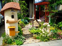 篠山市にお住まいのお客様へ 外構施工事例1