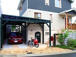 宝塚市にお住まいのお客様へ 外構施工事例1