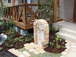 神戸市垂水区にお住まいのお客様へ 外構施工事例2