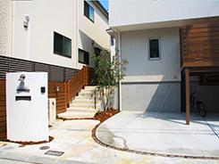 神戸市垂水区にお住まいのお客様へ 外構施工事例5