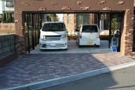 お家と合わせてホワイトカーポート カーポート・駐車場