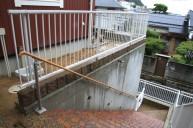 階段手摺り アプローチ・階段
