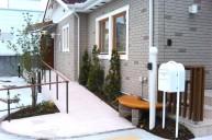 バリアフリースロープ アプローチ・階段