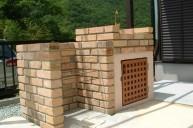 ガーデンシンクとの組み合わせ バーベキュー炉