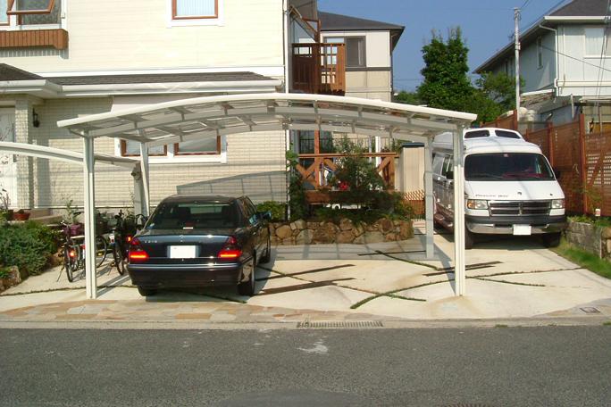 カーポート2台置き カーポート・駐車場