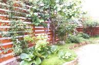 木製フェンス フェンス