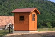 木製物置 コンクリート基礎で湿気対策 物置