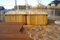 木製物置 物置