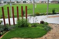 玄関前植栽 ガーデニング