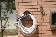 アイアンホース掛け 立水栓