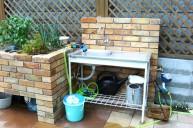 ガーデンシンク 立水栓