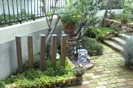 レンガ立水栓 立水栓