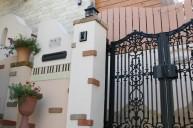 アイアン門扉との組み合わせ 門柱・門周り