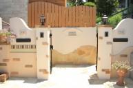 ピアノを表現した門柱 門柱・門周り