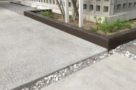 洗い出し駐車場土間 カーポート・駐車場