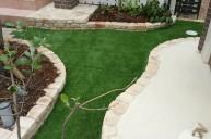 ナチュラルガーデンにも似合う美しい人工芝 ガーデニング