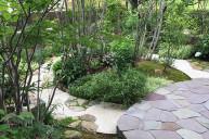 木漏れ日が美しいお庭 中庭